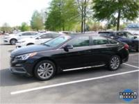 New Price! Black 2017 Hyundai Sonata Sport ABS brakes,