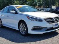 Form meets function with the 2017 Hyundai Sonata. This