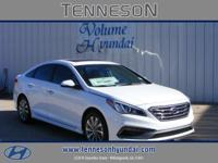 This Sonata Sport is equipped with power windows, power