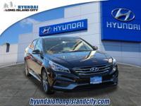 This 2017 Hyundai Sonata Sport features blind spot