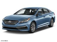 This 2017 Hyundai Sonata Sport boasts features like a