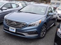 2017 Hyundai Sonata Sport  in Nouveau Blue. Cargo