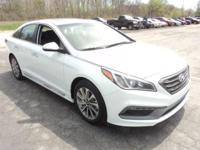 2017 Hyundai Sonata Keyless Entry, Sunroof / Moonroof,