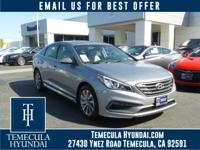 Temecula Hyundai is delighted to offer this superb 2017