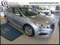 2017 Hyundai Sonata Limited Gray w/Leather Seating