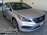 2017 Hyundai Sonata in Silver, AUX CONNECTION, USB,