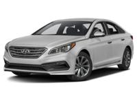 2017 Hyundai Sonata Sport Gray Cloth.35/25 Highway/City