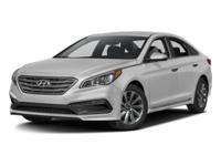 2017 Hyundai Sonata Sport HARD TO FIND A VEHICLE THIS