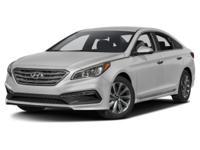 2017 Hyundai Sonata Sport Gray Cloth, Chrome Exterior