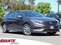 Serious gas savings. Gas super saver. This 2017 Sonata