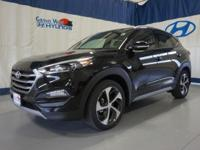 Black 2017 Hyundai Tucson Eco AWD 7-Speed Automatic