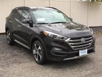 2017 Hyundai Tucson Limited AWD. 28/24 Highway/City MPG