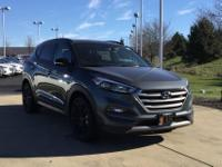 Gray 2017 Hyundai Tucson Night AWD 7-Speed Automatic