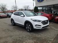 White 2017 Hyundai Tucson AWD 7-Speed Automatic 1.6L I4