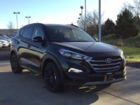 Black 2017 Hyundai Tucson Night AWD 7-Speed Automatic