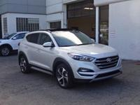 Silver 2017 Hyundai Tucson AWD 7-Speed Automatic 1.6L