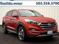 2017 Hyundai Tucson Sport 1.6L I4 DGI Turbocharged DOHC