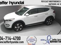 2017 Hyundai Tucson Limited 1.6L I4 DGI Turbocharged