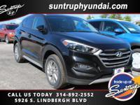 New Price! Black Noir Pearl 2017 Hyundai Tucson Eco AWD