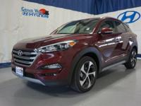 Red 2017 Hyundai Tucson Eco AWD 7-Speed Automatic 1.6L