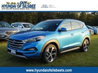 Caribbean Blue 2017 Hyundai Tucson Value FWD 7-Speed