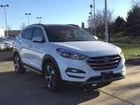 White 2017 Hyundai Tucson Value FWD 7-Speed Automatic