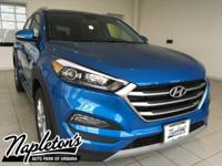 2017 Hyundai Tucson Eco  in Blue, AUX CONNECTION, USB,