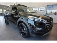 2017 Black Hyundai Tucson Night 7-Speed Automatic FWD