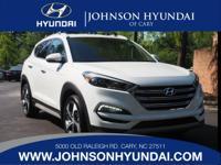 2017 Hyundai Tucson Limited. Cargo Net, Carpeted Floor