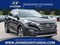 2017 Hyundai Tucson Limited. Cargo Net, Cargo Tray,