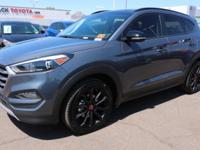 2017 Hyundai Tucson Night 32/26 Highway/City MPG