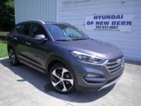 Gray 2017 Hyundai Tucson Limited FWD 7-Speed Automatic