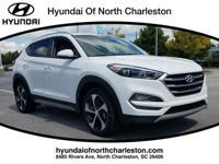 White 2017 Hyundai Tucson Eco FWD 7-Speed Automatic