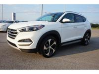 New Price! 2017 White Hyundai Tucson Sport 7-Speed