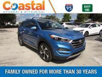 Blue 2017 Hyundai Tucson Sport FWD 7-Speed Automatic