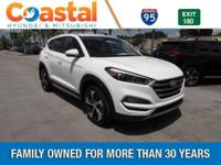 White 2017 Hyundai Tucson Sport FWD 7-Speed Automatic