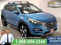 Recent Arrival!2017 Hyundai Tucson, Blue, Completely