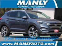 AWD! Turbo! This handsome 2017 Hyundai Tucson is the