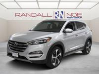 New Price! Silver 2017 Hyundai Tucson Limited FWD