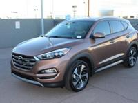 2017 Hyundai Tucson Limited 30/25 Highway/City MPG
