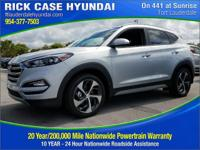 2017 Hyundai Tucson Limited  in Molten Silver and 20