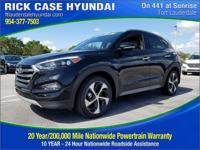 2017 Hyundai Tucson Limited  in Black Pearl and 20 year