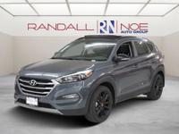 New Price! Gray 2017 Hyundai Tucson Night FWD 7-Speed
