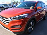 2017 Hyundai Tucson Sport 30/25 Highway/City MPGAwards: