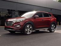2017 Hyundai White Tucson 1.6L I4 DGI Turbocharged DOHC