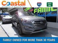 Gray 2017 Hyundai Tucson Night FWD 7-Speed Automatic