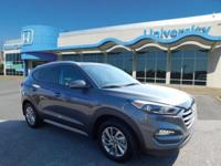 CARFAX One-Owner. Clean CARFAX. Gray 2017 Hyundai