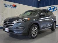 Gray 2017 Hyundai Tucson SE AWD 6-Speed Automatic with