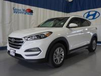 White 2017 Hyundai Tucson SE AWD 6-Speed Automatic with