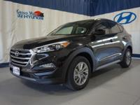 Black 2017 Hyundai Tucson SE AWD 6-Speed Automatic with